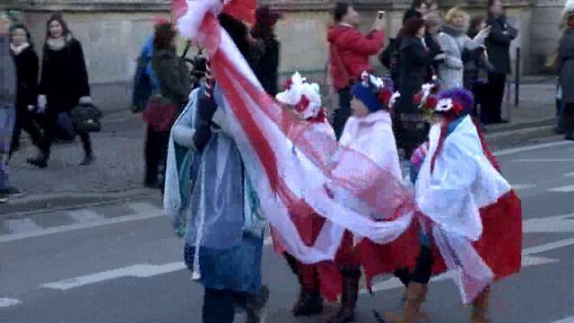 Radosna Parada Niepodległości przeszła wrocławskimi ulicami
