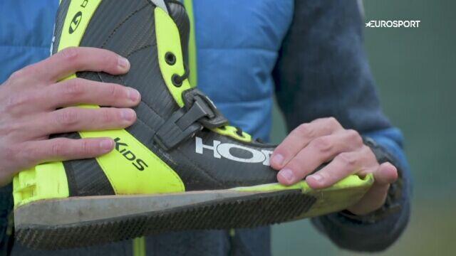 Andrzej Zarycki opowiada o butach skoczka narciarskiego
