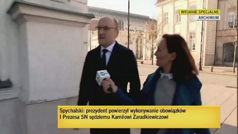 Profesor Matczak: Kamil Zaradkiewicz od początku stał po stronie tego co robił PiS