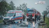 Wypadek na dk94. Jedna osoba ranna