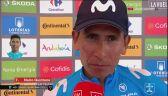 Quintana po wygraniu 2. etapu Vuelta a Espana