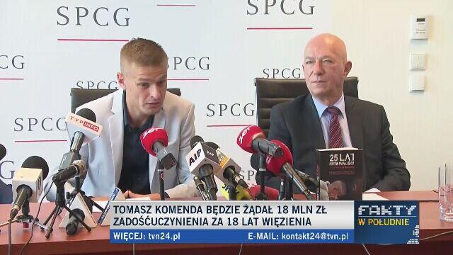 """""""Byłem traktowany jak bestia"""". Za 18 lat w więzieniu chce 18 milionów złotych"""