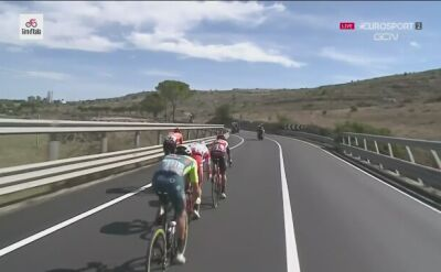 Najciekawsze momenty 7. etapu wyścigu Giro d'Italia