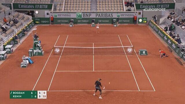 10 najlepszych zagrań Sofii Kenin w Roland Garros