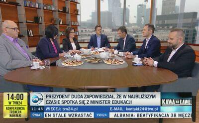 Rabiej krytykuje szefową MEN. Mazurek (PiS): pan szczególnie nie powinien mówić o złym dotyku
