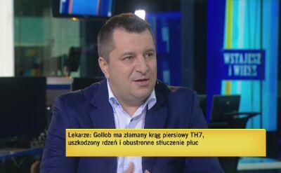 Zaczyński o urazie Golloba