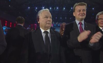 Jarosław Kaczyński przybył na konwencję PiS