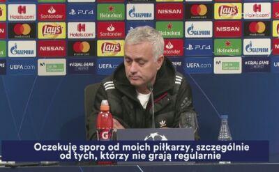 Mourinho jak zwykle w formie na konferencji