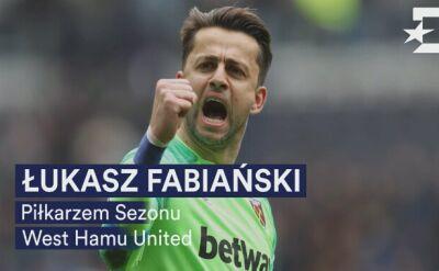 Fabiański piłkarzem sezonu West Ham United