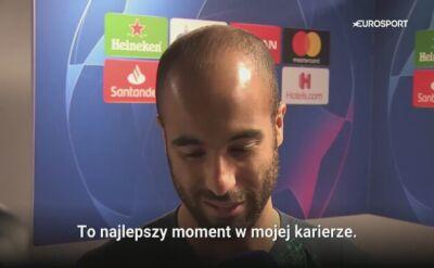 Lucas Moura: to najlepszy moment w mojej karierze