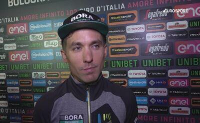 Cesare Benedetti gotowy na Giro