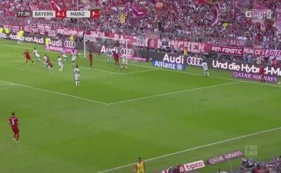 Bayern - Mainz 6:1. Gol Lewandowskiego