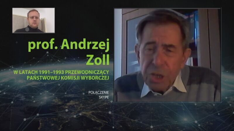 Andrzej Zoll: naruszeniem prawa jest to, że już się drukuje karty do głosowania