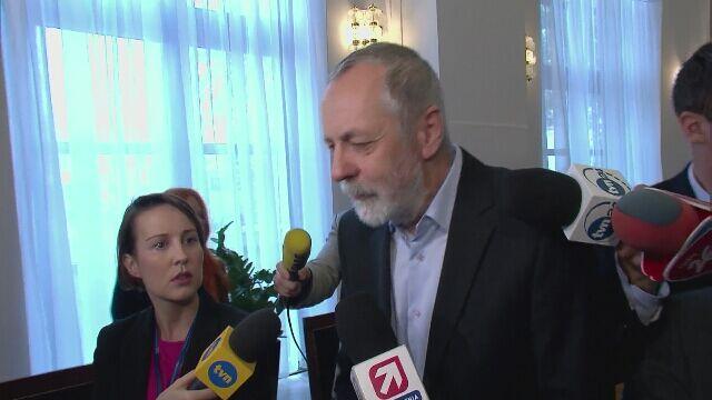 Rafał Grupiński powiedział, że nieobecność Donalda Tuska w Sejmie jest usprawiedliwiona