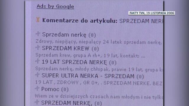 """Pierwszy materiał Dariusza Kmiecika dla """"Faktów"""" TVN z 2006 roku"""