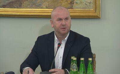 Były szef CBA Paweł Wojtunik przed komisją śledczą do spraw Amber Gold