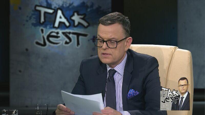 """Prof. Ireneusz Krzemiński i dr hab. Maciej Gdula w """"Tak Jest"""""""
