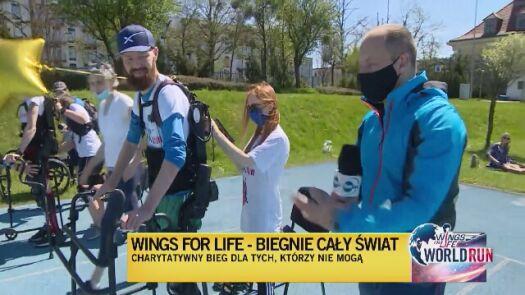 Uczestnik Wings for Life wystartuje w egzoszkielecie