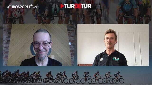 Maciej Bodnar przed startem Giro d'Italia