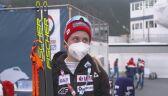 Izabela Marcisz po sobotnim biegu łączonym 2x7,5 km na MŚ w Oberstdorfie