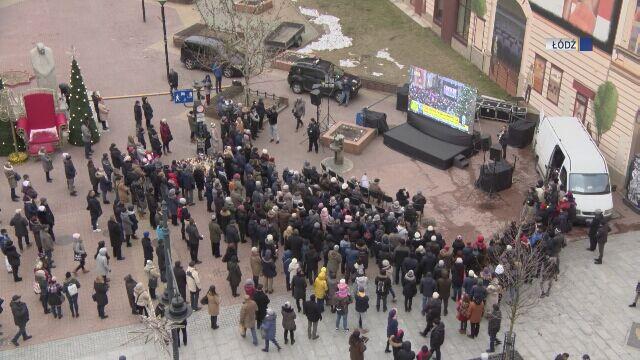 Transmisja pogrzebu w Łodzi