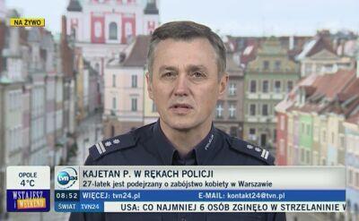"""Oni zatrzymali Kajetana P. """"Wytropili już ponad pół tysiąca sprawców"""""""