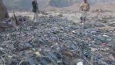 Rebelianci Huti chwalą się zdobyczami po ataku przy granicy z Arabią Saudyjską