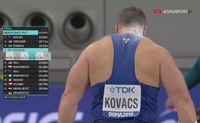 Zwycięska próba Joe Kovacsa w finale MŚ