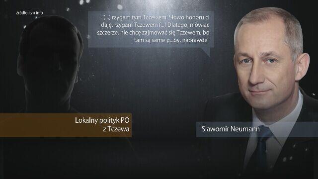 """""""Taśmy Neumanna"""", czyli nagranie prywatnej rozmowy Sławomira Neumanna z lokalnymi działaczami PO z Tczewa"""