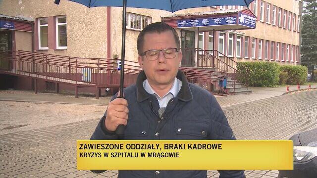 W Mrągowie zawieszono oddział dziecięcy i pododdział noworodkowy