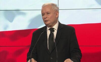 """Kaczyński zapomniał o zasługach Dudy. """"To przejęzyczenie"""""""