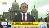 Pielgrzymi będąć oglądać kanonizację w Licheniu