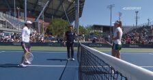Skrót meczu Świątek - Ferro w meczu 2. rundy US Open