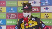 Roglić po wygraniu 17. etapu Vuelta a Espana