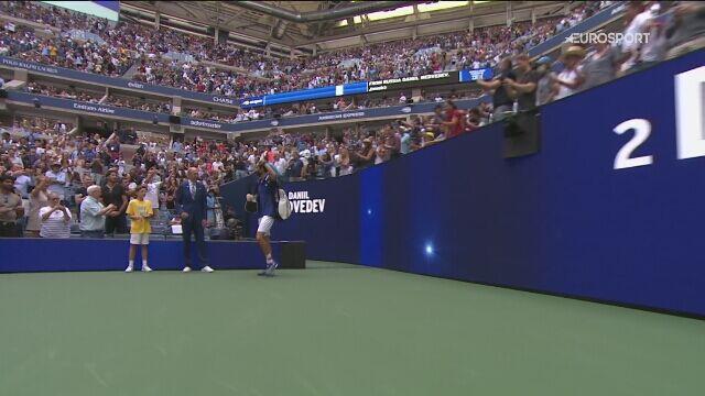 Najważniejsze momenty finału singla mężczyzn w US Open
