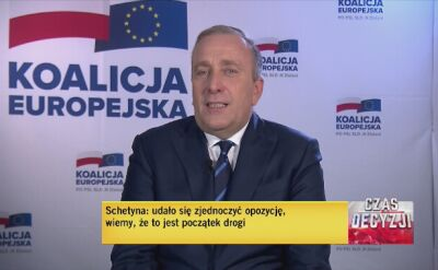 Schetyna: zjednoczyliśmy opozycję