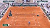Skrót meczu Brengle - Karolina Pliskova z pierwszej rundy Roland Garros