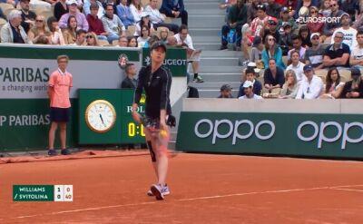 Skrót meczu Venus Williams - Switolina w pierwszej rundzie Roland Garros