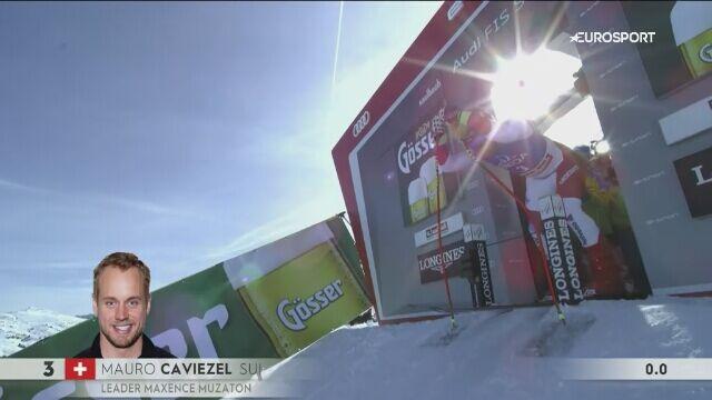 Caviezel trzeci w zjeździe w Saalbach-Hinterglemm