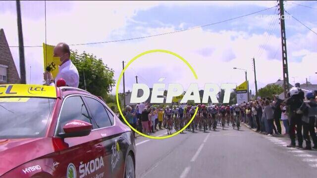 Skrót 2. etapu Tour de France