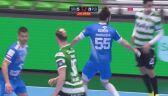 Świetna interwencja Adama Morawskiego pod koniec meczu ze Sportingiem