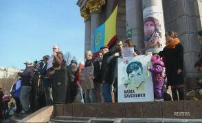 """Putin na szubienicy, """"Uwolnić Sawczenko"""". Protest w Kijowie"""