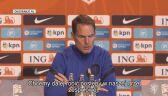 Trener Holandii Frank De Boer przed meczem z Polską w Lidze Narodów