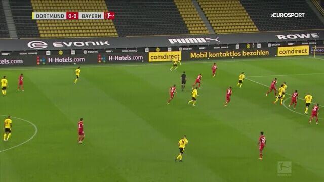 Skrót meczu Borussia Dortmund - Bayern w 7. kolejce Bundesligi