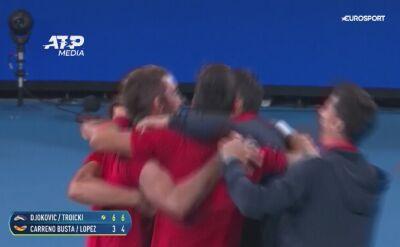 Serbowie triumfatorami pierwszej edycji ATP Cup