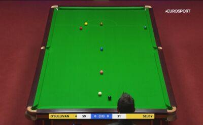O'Sullivan wbija przez cały stół w półfinale z Selbym