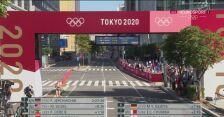 Tokio. Maraton. Karolina Nadolska na mecie