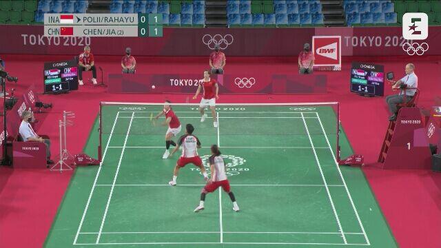 Tokio. Badminton: Indonezyjki zdobyły złoty medal olimpijski w deblu
