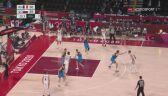 Tokio. Emocjonująca końcówka meczu Francja - Słowenia w koszykówce mężczyzn