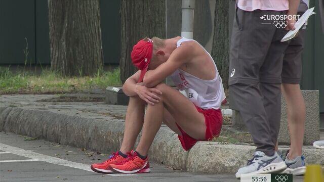 Tokio. Niedziałek wycofał się z rywalizacji w chodzie na 20 km mężczyzn